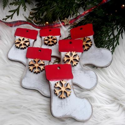 Vianočná ozdoba - čižma