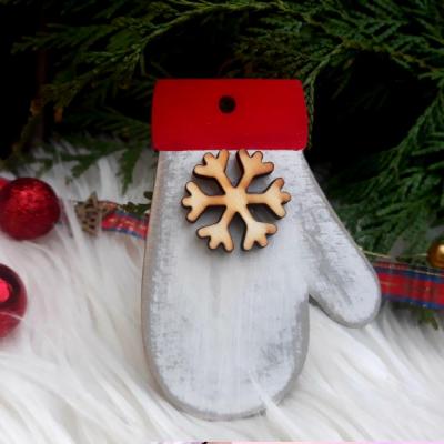 vianočná ozdoba - rukavička
