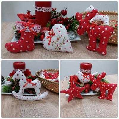 Vianočné ozdôbky - Set