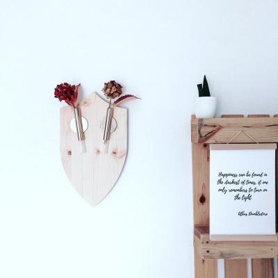 Cruelty free trofej na stenu (váza) VIANOČNÁ LIMITKA