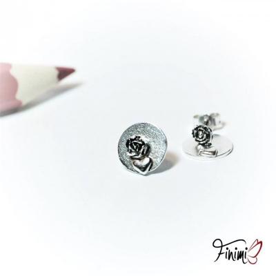 SKLADOM: Ružičky so srdcom v kruhu 3v1