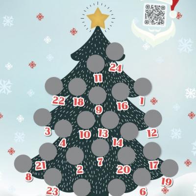 Adventný kalendár aktivít s deťmi