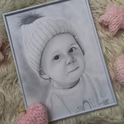 Dievčatko s čiapkou