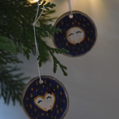 Drevene vianocne ozdoby