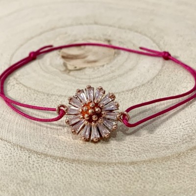 Ružovo zlatý kvet