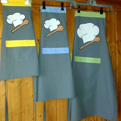 Set kuchynských zásterok