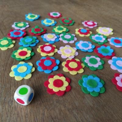 hra Farebné kvety
