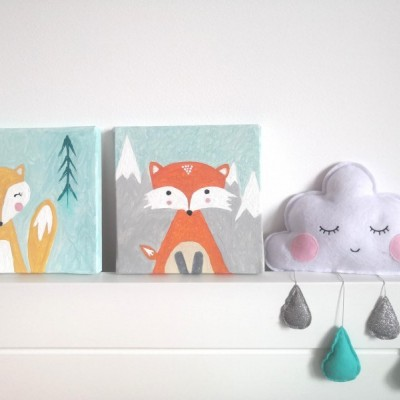 Obraz Líšky Nordic