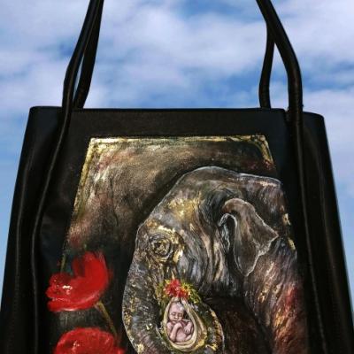 Slon,taška