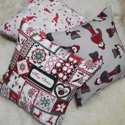 Vianočné obliečky -Tirol, snehuliak, trpaslíci