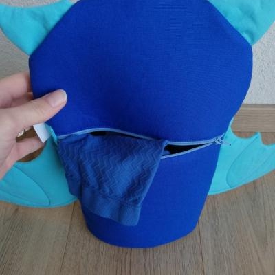Pyžamkožrút modrý Netopierik