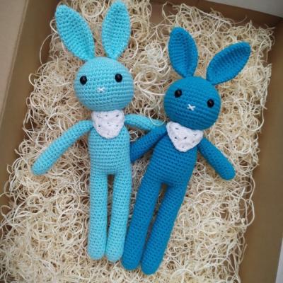 Háčkovany zajačik