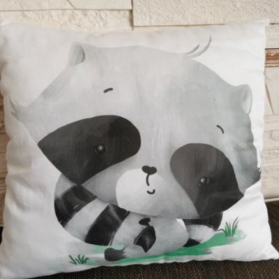 Vankúš s medvedikom