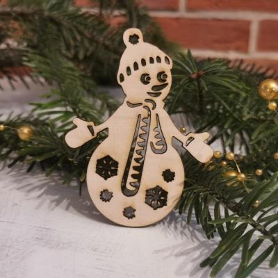 vianočná ozdoba- snehuliak