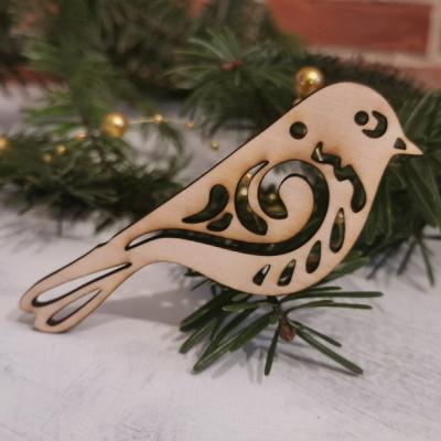 Vianočná ozdoba - vtáčik