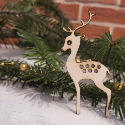 Vianočná ozdoba- jelenček