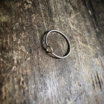 Minimalistický prsteň Krúžok
