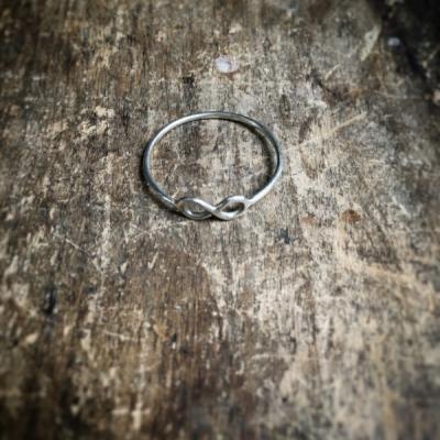 Minimalistický prsteň Nekonečno