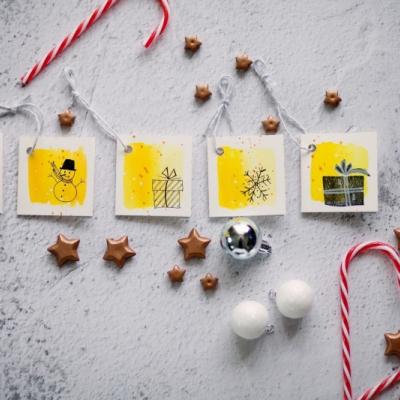 Darčekové kartičky vianočné