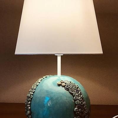 Stolná lampa podmorský svet