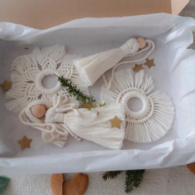 Sada vianočných ozdôb M s anjelom