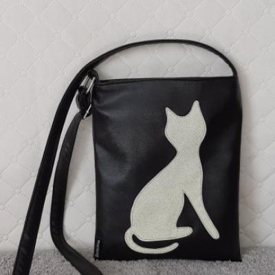 Crossbody kabelka s motívom Cica