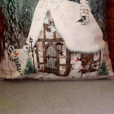 Vianočna dekoračná navliečka