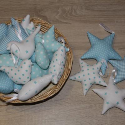 Hviezdičky tyrkysové
