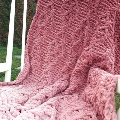 Detská deka - tehlová