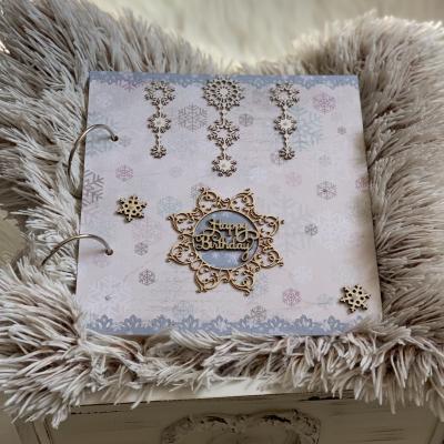 """Tematicky album pre dievčatko """"Ľadové kráľovstvo"""""""