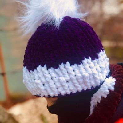 Zimná čiapka - Bobble