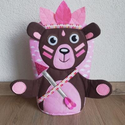 Pyžamkozrút Macko ružový