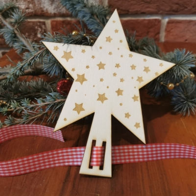Vianočná hviezda na stromček