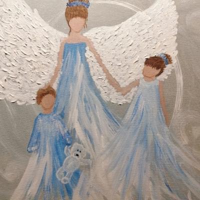 Anjel mama - rezervovaný