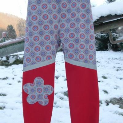 Softshellové nohavice s reflexným pásikom/ na objednávku