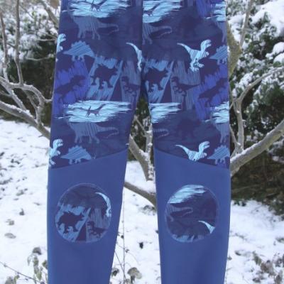 Softshellové nohavice DINO/ na objednávku