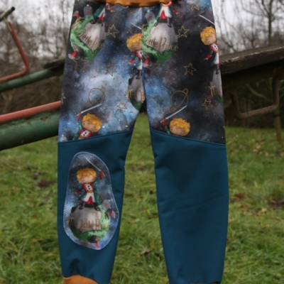 Softshellové nohavice - Malý Princ / na objednávku