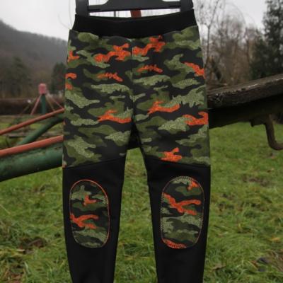 Softshellové nohavice - maskač / veľkosť: 92