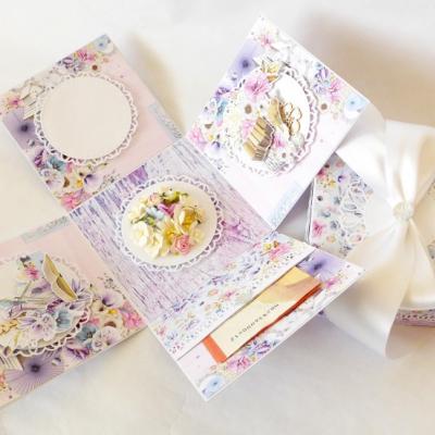 Exploding box - darčeková krabička k narodeninám