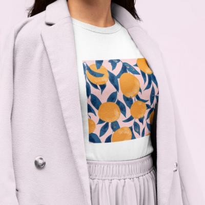 Ilustrácia na tričku, dizajnová potlač