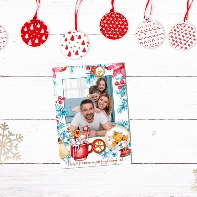 Personalizované vianočné pohľadnice 10ks
