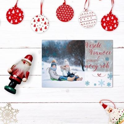 Personalizované vianočné pohľadnice 15ks