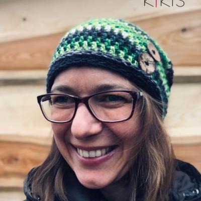 Jarná čiapka Homelesska - Zelienka, vhodná aj pre veľkáčky Onkoláčičky 😍