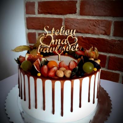 Zápich na tortu s tebou ma baví svet