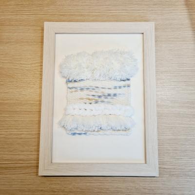 Ručne tkaný obraz v ráme