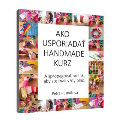 E-book: Ako usporiadať handmade kurz