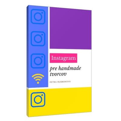 E-book: Instagram pre handmade tvorcov
