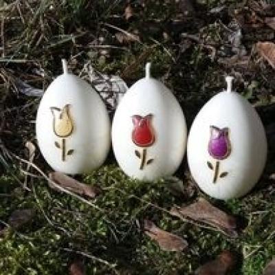 veľkonočné sviečky Tulipano