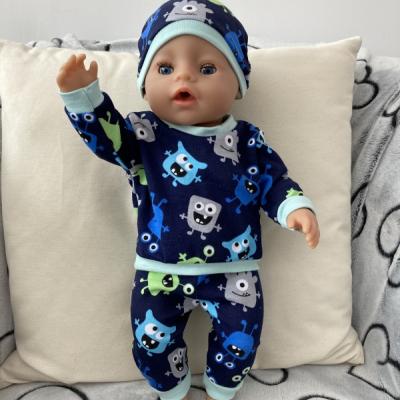 Teplakova súprava pre bábiku