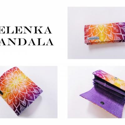 Peňaženka Belenka mandala